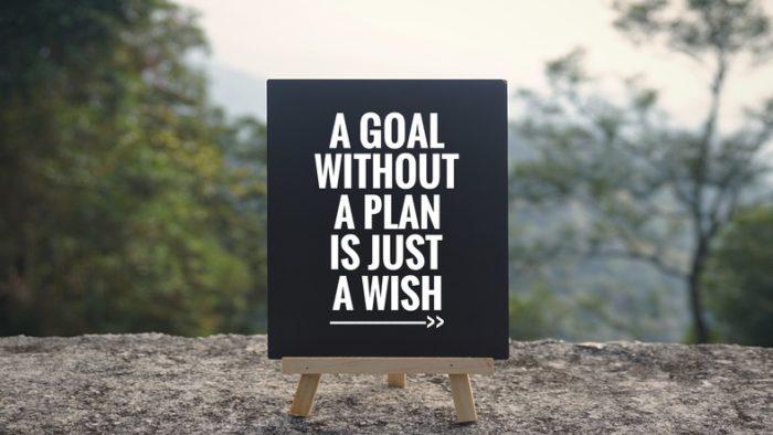 Sätt upp mål med träningen